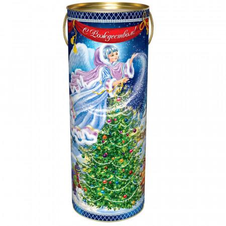 Сладкий новогодний подарок Туба Новогодняя ночь 1300 грамм элит в Ульяновске