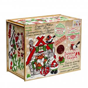 Посылка от Деда Мороза Символ года 1300 грамм премиум