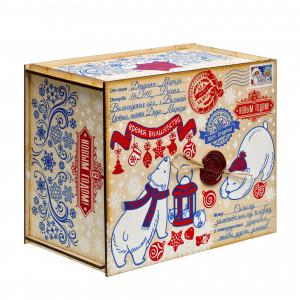 Посылка от Деда Мороза Северная сказка 1300 грамм премиум