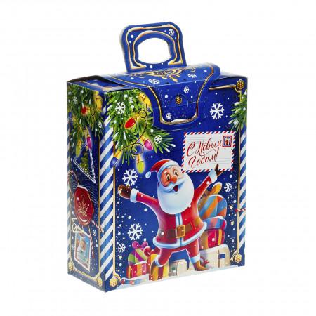 Новогодняя почта синяя 700 грамм стандарт в Ульяновске