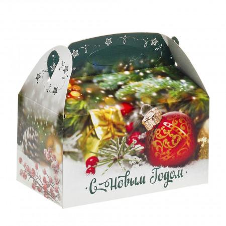 Сладкий новогодний подарок С Рождеством 500 грамм элит в Ульяновске