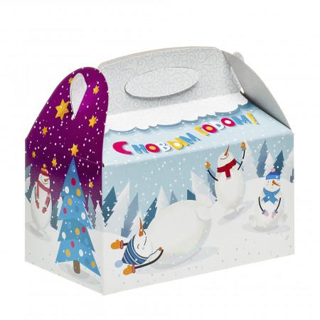 Сладкий новогодний подарок Снежок 500 грамм стандарт в Ульяновске