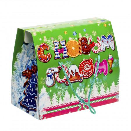 Кейс С Новым Годом зеленый 1000 грамм премиум в Ульяновске