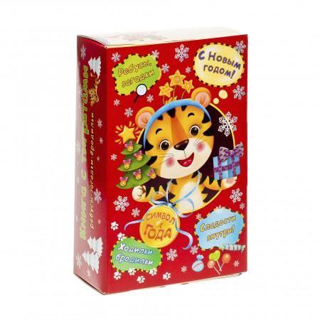 Сладкий новогодний подарок Книга развлекайка 500 грамм элит в Ульяновске