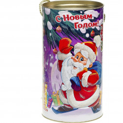 Туба С Дедом Морозом 800 грамм стандарт