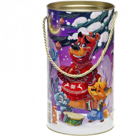 Туба С Дедом Морозом 800 грамм стандарт в Ульяновске