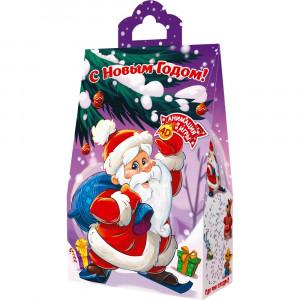Пакет с Дедом Морозом 800 грамм элит