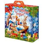 Сладкие новогодние подарки в картоне в Ульяновске