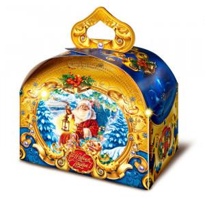 Дед Мороз с фонариком 900 грамм стандарт.